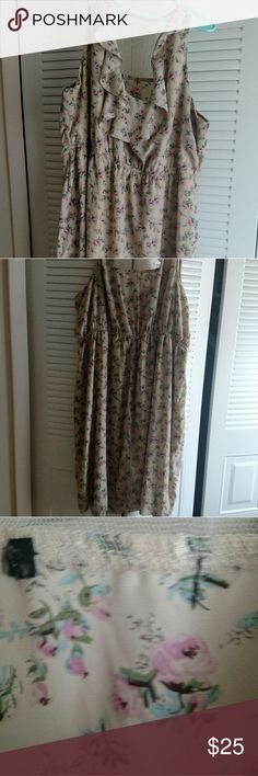 Maurice's Flower Dress NWOT, Maurice's size 3, gently used  From a smoke free home :) Maurices Dresses