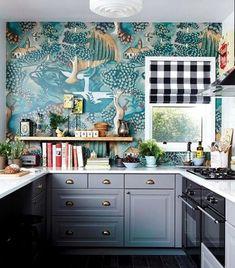 Как украсить стены в Вашей кухне обоями. 7 креативных идей. | Décor and Design | Яндекс Дзен