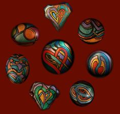 Painted Stones Rockstarz: hand-painted stones