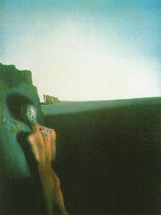 Salvador Dali - Solitude - Anthropomorphic Echo, 1935