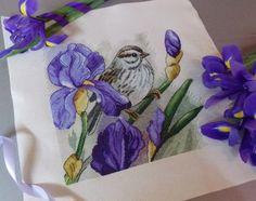 Акварель в крестиках: дизайны Инны Пешковой - Ярмарка Мастеров - ручная работа, handmade