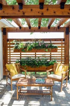 The pergola kits are the easiest and quickest way to build a garden pergola. There are lots of do it yourself pergola kits available to you so that anyone could easily put them together to construct a new structure at their backyard. Diy Pergola, Building A Pergola, Small Pergola, Pergola With Roof, Wooden Pergola, Outdoor Pergola, Pergola Shade, Pergola Plans, Pergola Lighting
