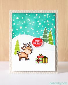 More details on this card here -   http://www.debduty.com/2015/12/lawn-fawn-toboggan-together.html