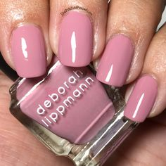 Deborah Lippmann Touch Me in the Morning Collection - The Polished Pursuit Deborah Lippmann Nail Polish, Work Week, Touch Me, Summer Collection, Nails, Finger Nails, Ongles, Nail, Nail Manicure