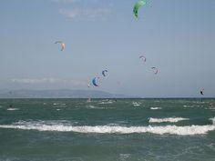 Kitesurf in Caños de Meca  #Cádiz   www.restaurantecastillejos.es