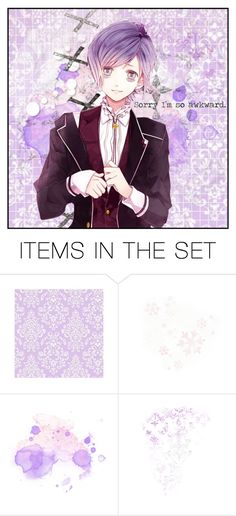 """Sorry I'm so awkward. // Kanato Sakamaki"" by lil-galaxy-princess ❤ liked on Polyvore featuring art"