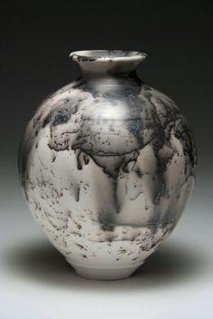Horse hair pottery