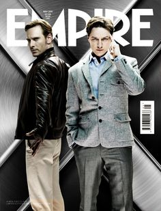 X-Men First Class is on my wishlist. I am a fan of X-Men in general, and I'm an even greater fan of Michael Fassbender and James Mcavoy. X Men, James Mcavoy Michael Fassbender, Marvel E Dc, Marvel Universe, Charles Xavier, First Class, Good Looking Men, Gorgeous Men, Actors & Actresses