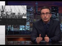 On this year's last episode of Last Week Tonight, John Oliver conducted an extensive segment on the week's debates over the Paris attacks and Syrian refugees...