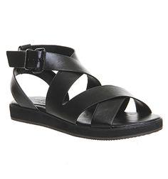 Office Bounce Sporty Sandal Black - Sandals
