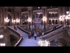 Video on the Paris Opera House by Charles Garnie (complete with Phantom of the Opera music) - Beaux Art example.