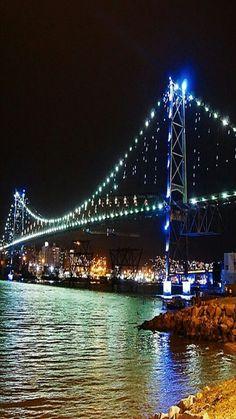 Ponte Hercilio Luz, Florianópolis.