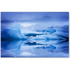 Trademark Fine Art 'Blue Air' Canvas Art by Philippe Sainte-Laudy, Size: 16 x 24, Multicolor