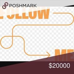Follow me!! Please share!! Hi ladies! I've had to take a little break from posh but now I'm back! My new goal is 20k followers! Please help me reach my goal. Please like and share with your followers and be sure to follow those that have liked this post! Thanks ??? Happy poshing!! Other