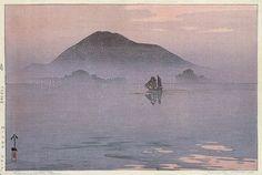 hanga gallery . . . torii gallery: Evening After Rain by Hiroshi Yoshida