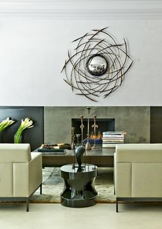 Interview With The Los Angeles Interior Designers Of Chimera Interiors Modern Living Room