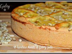 Crostata con crema pasticcera, mele e pinoli, Ricetta - Petitchef