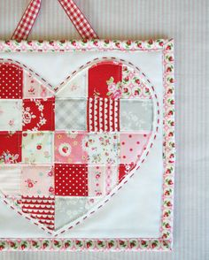little patchwork heart - a little sweetness
