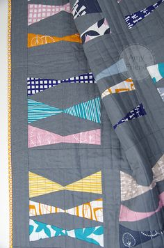 During Quiet Time: Fly A Kite... Made with Glimma by Lotta Jansodtter for Windham Fabrics