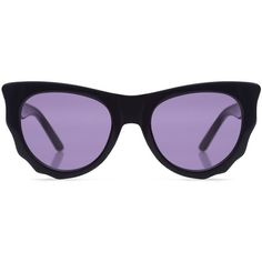 Ksubi - BATCAT thick frame sunglasses ($230) ❤ liked on Polyvore featuring accessories, eyewear, sunglasses, retro cat eye sunglasses, ksubi glasses, thick glasses, cat eye glasses and cat-eye glasses
