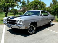 1970 chevelle ss 454 silver image by KandSCars on Photobucket