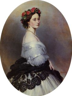 child of Queen Victoria & Prince Albert & wife of Prince Louis IV (Ludwig IV) (Frederick William Louis Charles) of Hesse & by Rhine, German Empire Princess Alice Maud Mary 1861 by Franz Xaver Winterhalter. Franz Xaver Winterhalter, Queen Victoria Prince Albert, Victoria And Albert, Princess Victoria, Queen Victoria's Daughters, Grand Duc, Reine Victoria, Royal House, British History