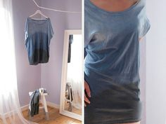 DIY-Anleitung: Dip-Dye Shirt selber machen via DaWanda.com