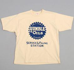"FREEWHEELERS: ""Humble Oils"" T-Shirt, Straw"