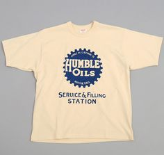 """HUMBLE OILS"" T-SHIRT, STRAW :: HICKOREE'S"