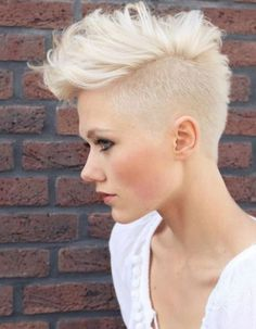 Most populars of female short mohawk hairstyles The best of female short mohawk hairstyles Top 10 of female short mohawk hairstyles Most pop. Mohawk Hairstyles For Women, Long Hairstyles, Edgy Haircuts, Choppy Haircuts, Short Shaved Hairstyles, Summer Hairstyles, Woman Hairstyles, Gorgeous Hairstyles, Short Female Hairstyles