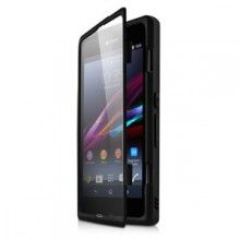 Funda Xperia Z1 Made for Xperia - Funcion soporte Bimat Negra  $ 288,15