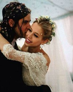 Peaches Geldof at her wedding with Tom Cohen. Beautiful Angel RIP