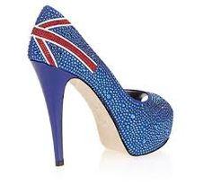 London Gittery Heels