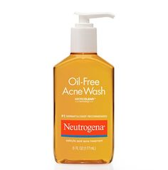 10 Best Cleansers for Every Skin Type: Best Cleanser for Acne: Neutrogena Oil-Free Acne Wash, Acne Treatment