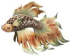 Image result for japanese fighting fish porcelain