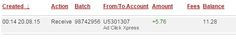 ADCLICKXPRESS – ACX IS AWESOME AND HERE IS MY PAYMENT NR.15! NO SCAM HERE!! I am setting my proof withdrawal from the money I earned at ACX Making my daily earnings is fun, and makes it a very profitable! Work from home at ACX. http://www.adclickxpress.com/?r=eh6qw6keb3ja&p=aa