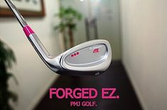 FORGED EZ. pink dot by PMJ GOLF.