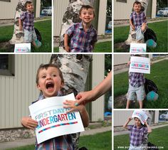 Get the kids excited for their first day back to #school with these fun First Day of School #Free #Printable Signs!