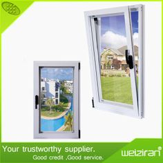 Wholesale Price Custom Thermal Insulation Aluminum Casement Window (WG55) on Made-in-China.com