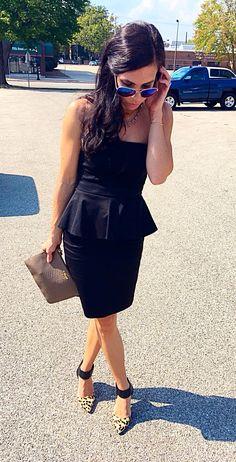 LBD. Little Black Dress. Summer style. Wedding fashion.