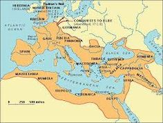 map roman empire at its height - Google Search