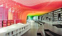کتابخانه رنگین کمان در چین 