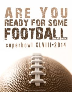 use this Super Bowl Printable for your Super Bowl Sunday Party! | www.moritzfineblogdesigns.com