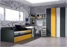 Dormitorio juvenil.  Youth Bedroom   #furniture  #muebles #Málaga  http://www.decorhaus.es/es/