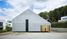Buchner Bründler - Family house, Lörrach 2014. Via, photos © Ruedi Walti.
