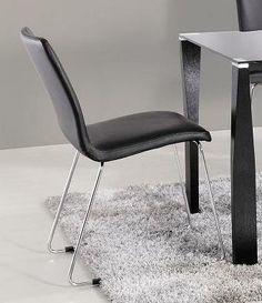 Jackie Black Dining Chair