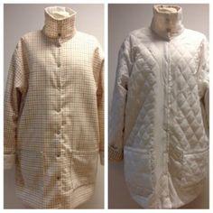 Image of Unika vendbar jakke i lysternet uld