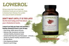 Lowerol Review - Cholesterol Lowering Supplement
