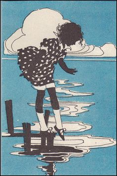 Pictorial Review illustrations by Decie Merwin by katinthecupboard, via Flickr