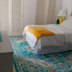 Bungalow Rose Montana Oriental Blue Area Rug | Wayfair Area Rug Placement, Beige Area Rugs, Outdoor Rugs, Rugs On Carpet, Oriental, Blue Area, Stylish, Bed, Montana